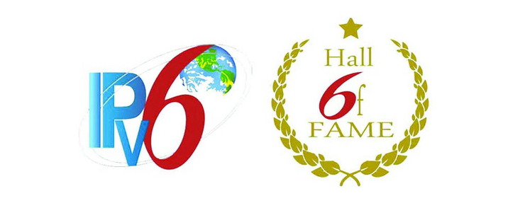 Logo der IPv6 New Internet Hall of Fame
