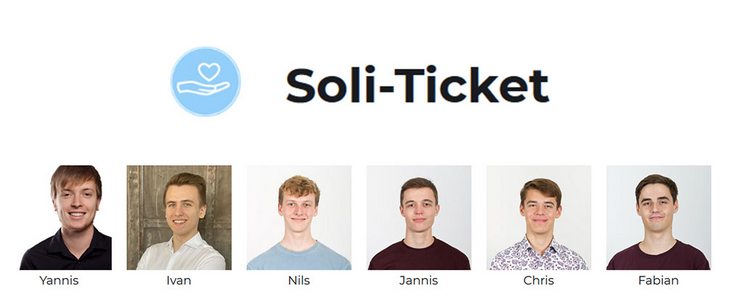 Das Soli-Ticket Team