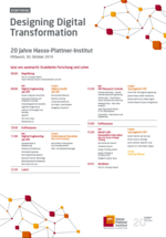 Agenda der Designing Digital Transformation Konferenz