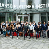 "Gruppenbild des HPI-Stanford Programms ""Leading Digital Transformation and Innovation"""