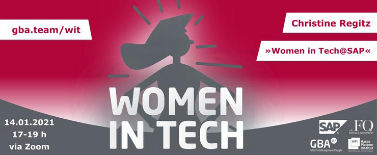 1. Women in Tech Talk 2021 am 14. Januar