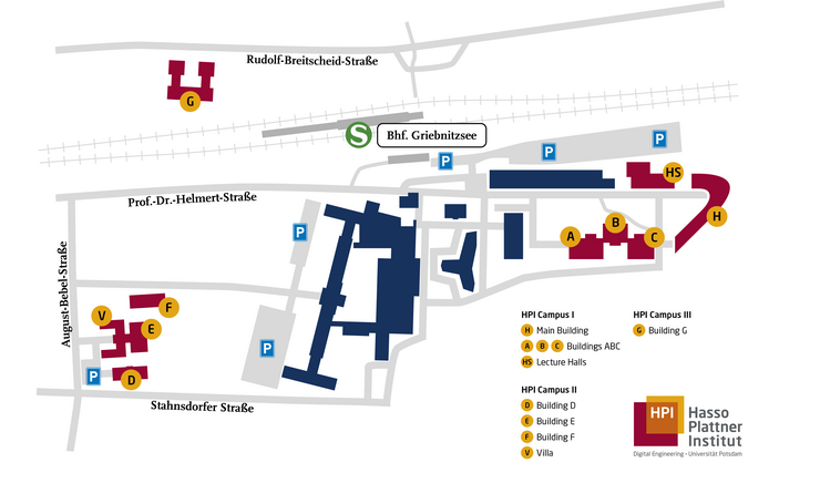 Campus Map of HPI