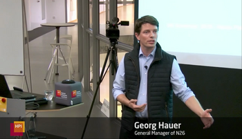 Georg Hauer, General Manager at N26