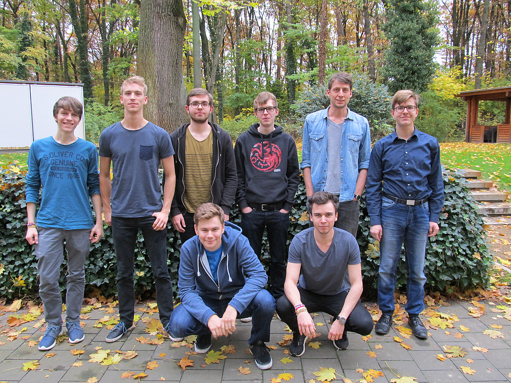 Teamfoto - Bachelorprojekt Data Ingestion