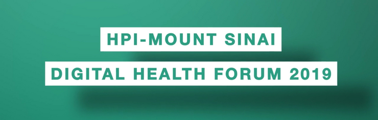 HPI-Mount Sinai Digital Health Forum 2019