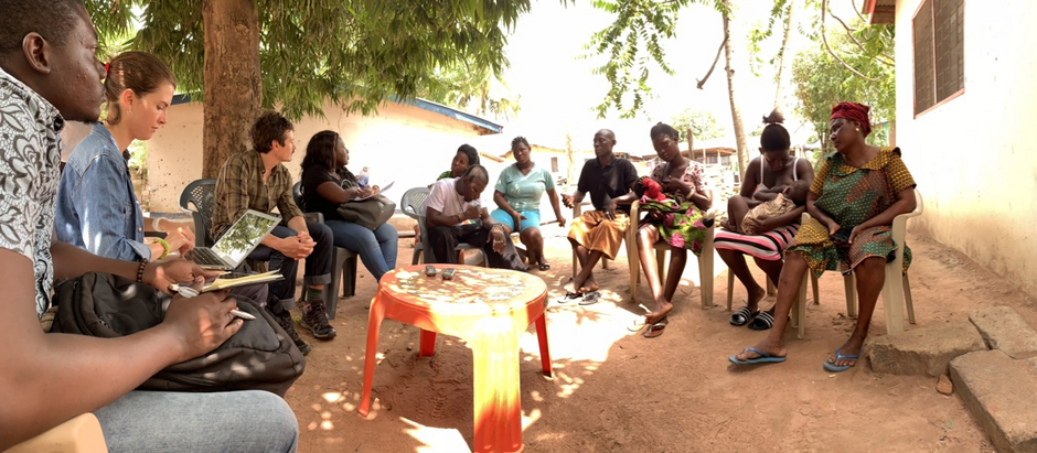 [Translate to Englisch:] Design Thinking Project in Ghana