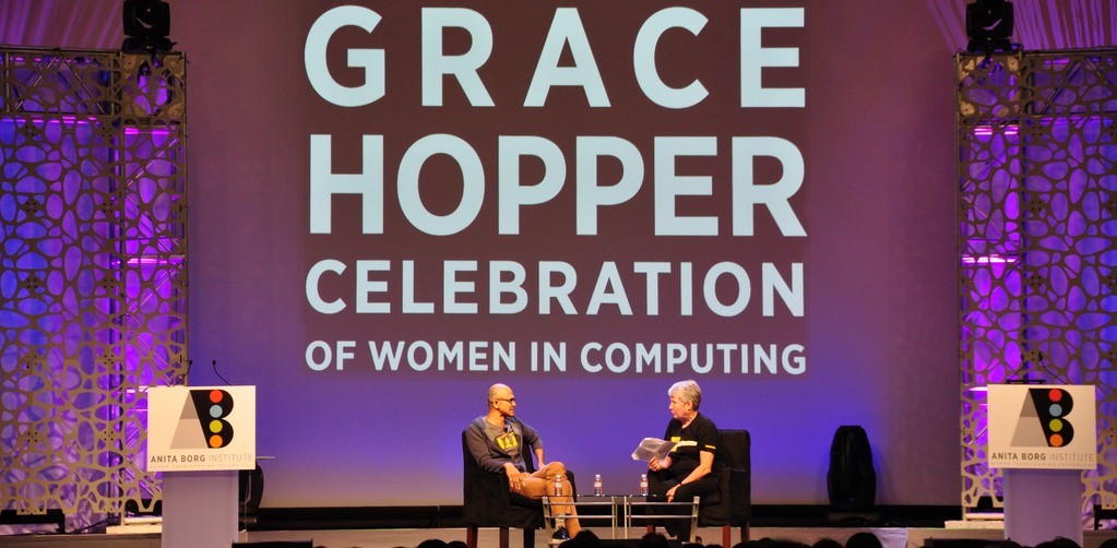 Grace Hopper Messe 2016
