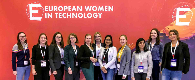Die HPI-Stipendiatinnen der European Women In Technology