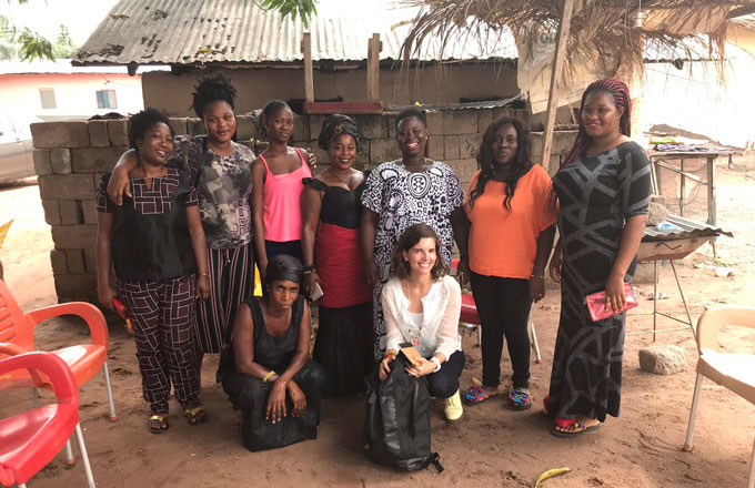 [Translate to Englisch:] Interviewed women in Ghana