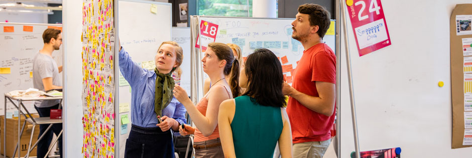 [Translate to Englisch:] Unsere Design Thinking Programme