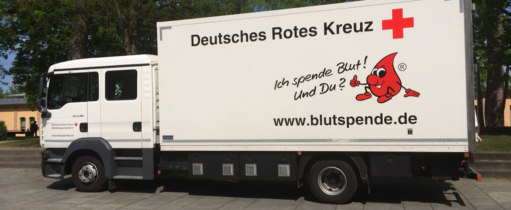 Blutspende-Aktion am HPI.
