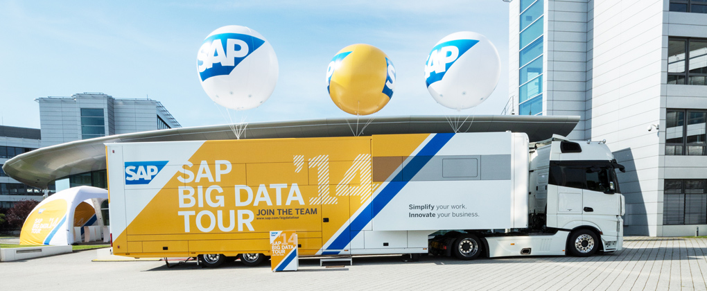 SAP Big Data Truck am HPI