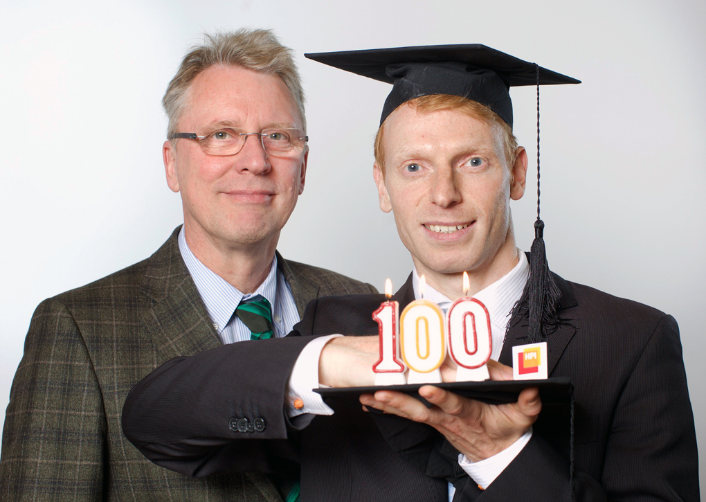 HPI feiert 100. Promotion im IT-Systems Engineering
