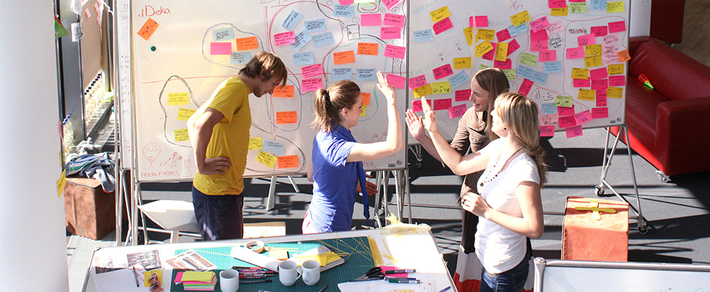 HPI-Initiative: Design Thinking