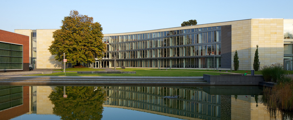 Der HPI-Campus in Potsdam