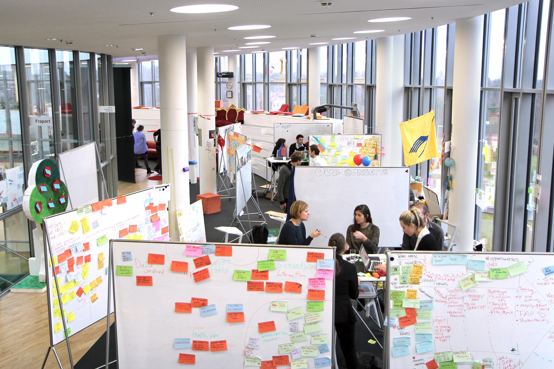School of design thinking for Raumgestaltung und design